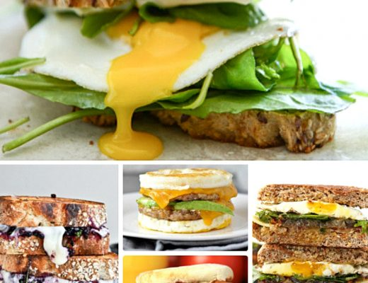 15 Perfect for Summer Breakfast Sandwiches | Renee at Great Peace #mealplanning #breakfastideas #breakfast #breakfastsandwiches