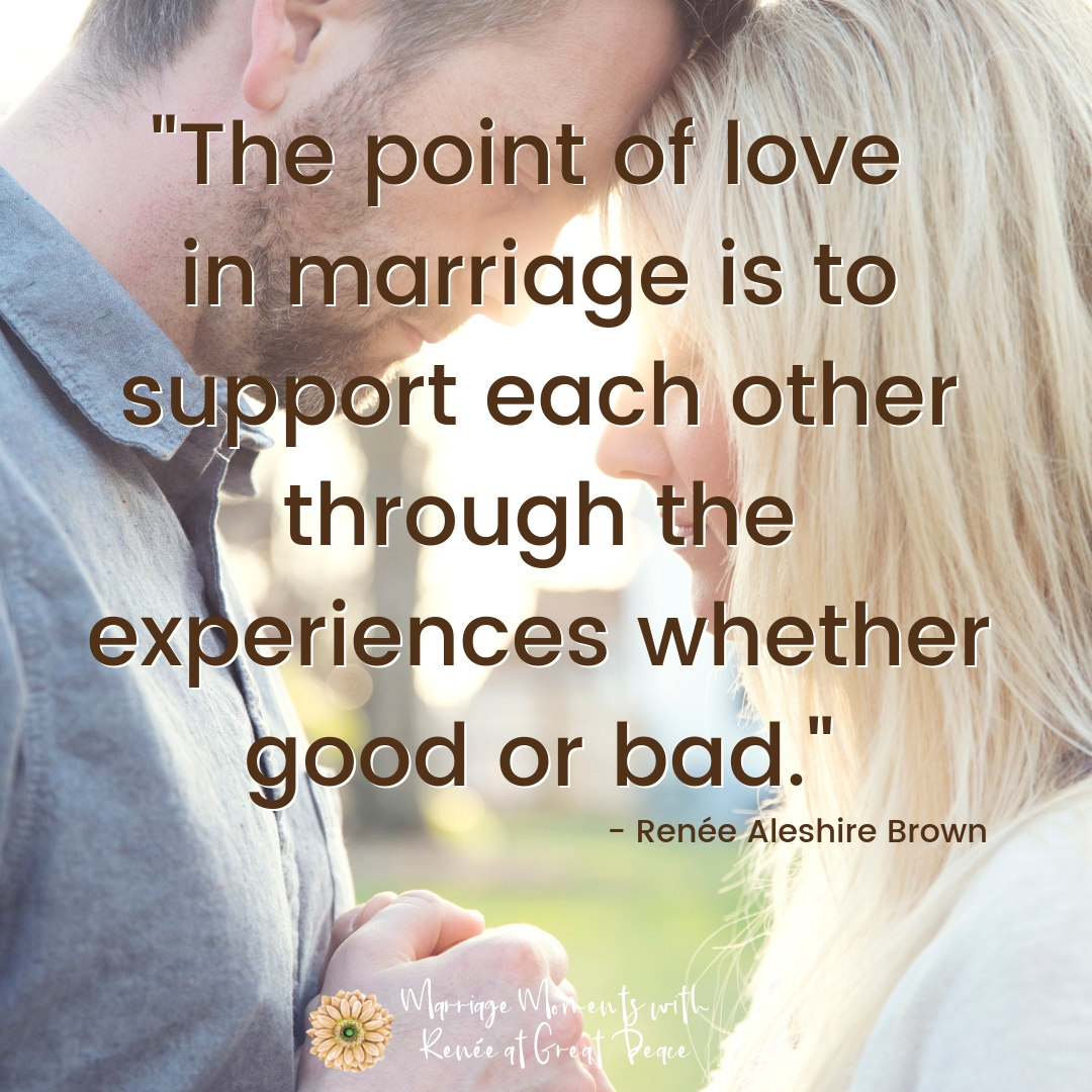 Quotes for a Joyful Marriage | Renee at Great Peace #marriage #marriagemoments #quotes #marriagequotes #joyfulmarriage