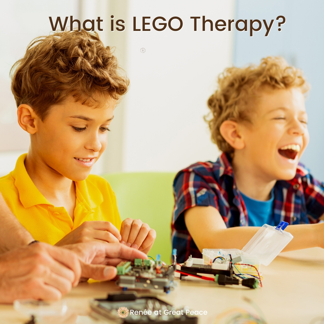 The Best Online LEGO Therapy Resources | Renee at Great Peace #LEGO #LEGOTherapy #LEGOLearning #homeschool #specialneeds #sped #ihsnet