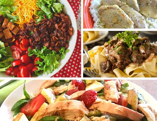 20 Family Dinner Ideas You Can Cook Tonight | Renee at Great Peace #mealplanning #dinnerideas #familydinnerideas