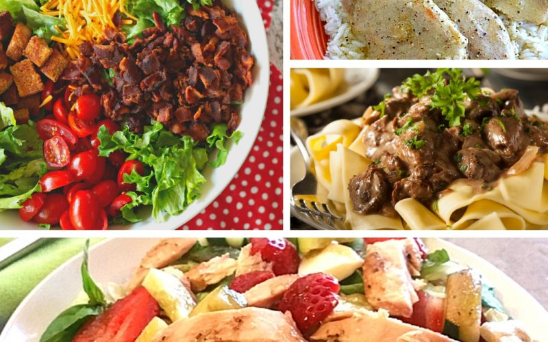 20 Family Dinner Ideas You Can Cook Tonight | Renee at Great Peace #mealplanning #dinnerideas #familydinnerideas