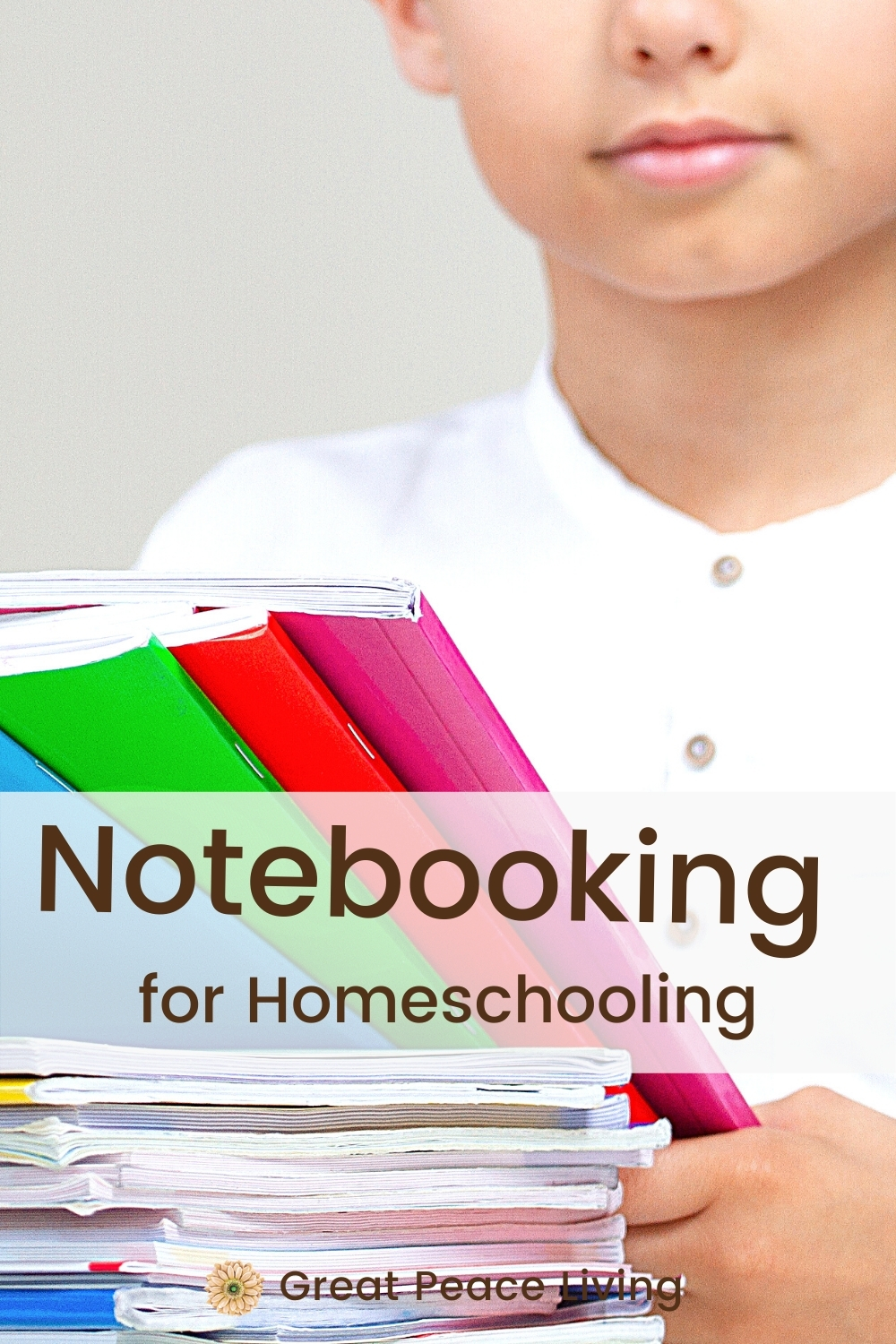Notebooking for Homeschool | Great Peace Living #homeschool #notebooking #homeschooling #ihsnet