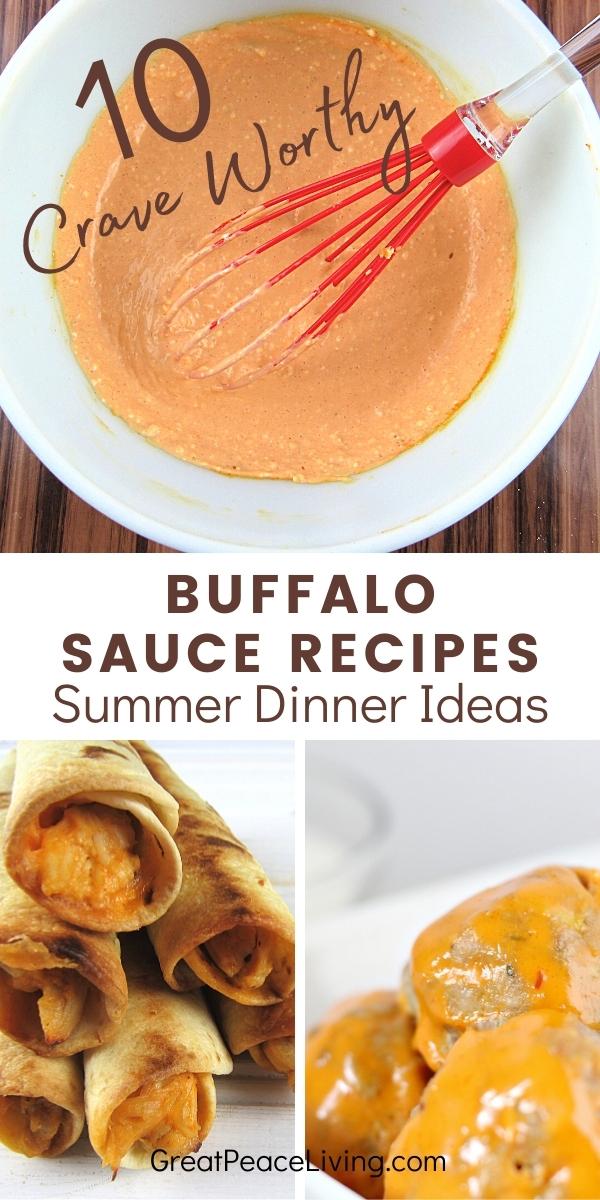 Buffalo Sauce Dinner Recipes  for Summer Dinner Ideas