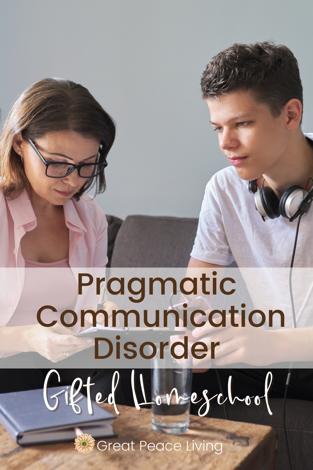 Finding Homeschool Help with Speech Therapy for Pragmatic Communication Disorder | Great Peace Living #homeschool #homeschooling #homeschoolmom #ihsnet #gifted #giftedhomeschool #gtchat #speechtherapy #spd #communicationdisorder