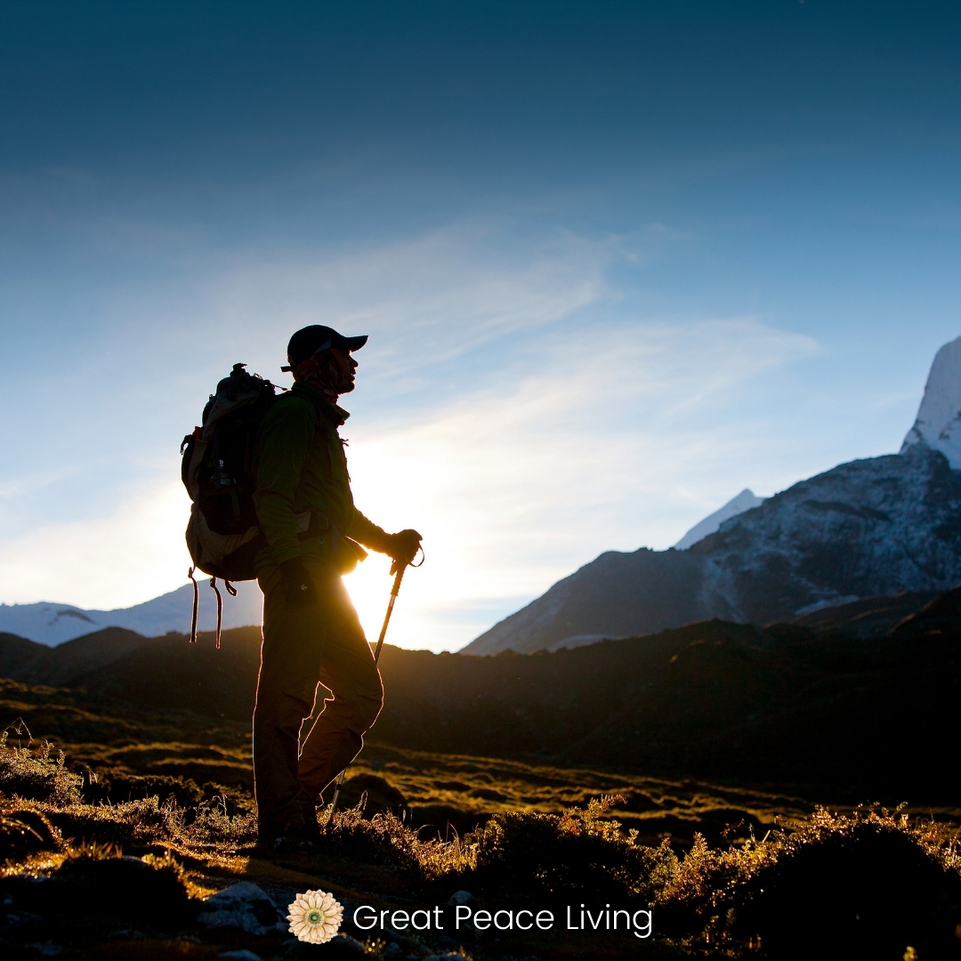 Picture of hiker
