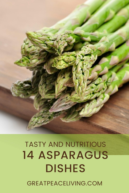 14 Asparagus Dish Recipes for Family Dinner Ideas
