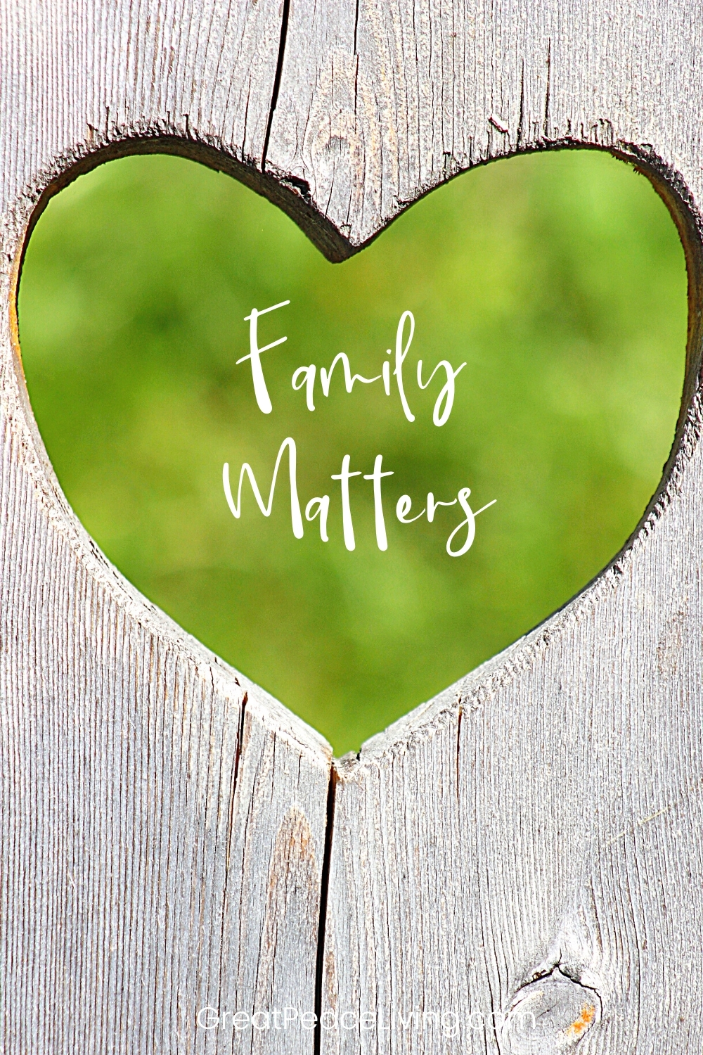 Family Matters - Heart Leaf