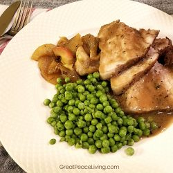 Maple and Apple Glazed Pork Roast