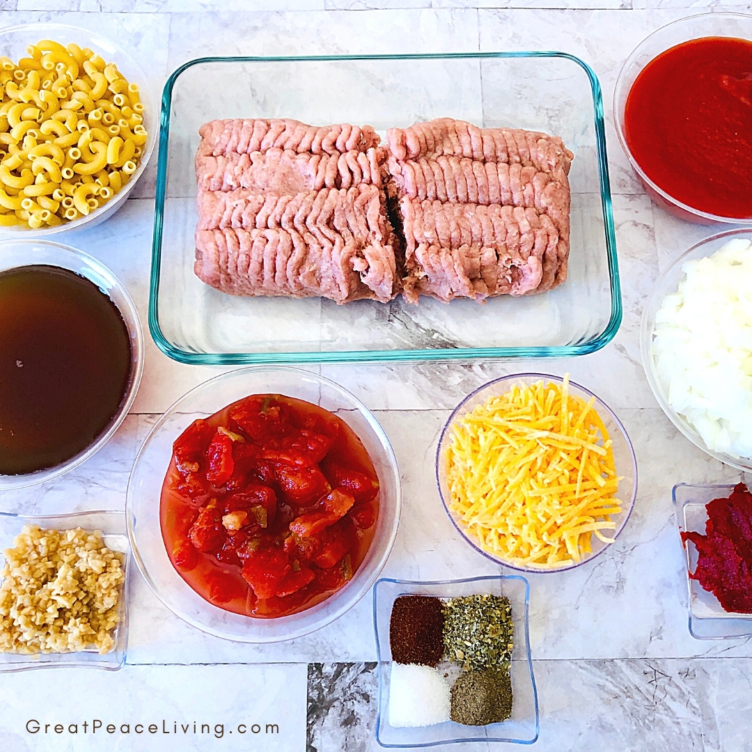 Easy Turkey Goulash Recipe   Great Peace Living
