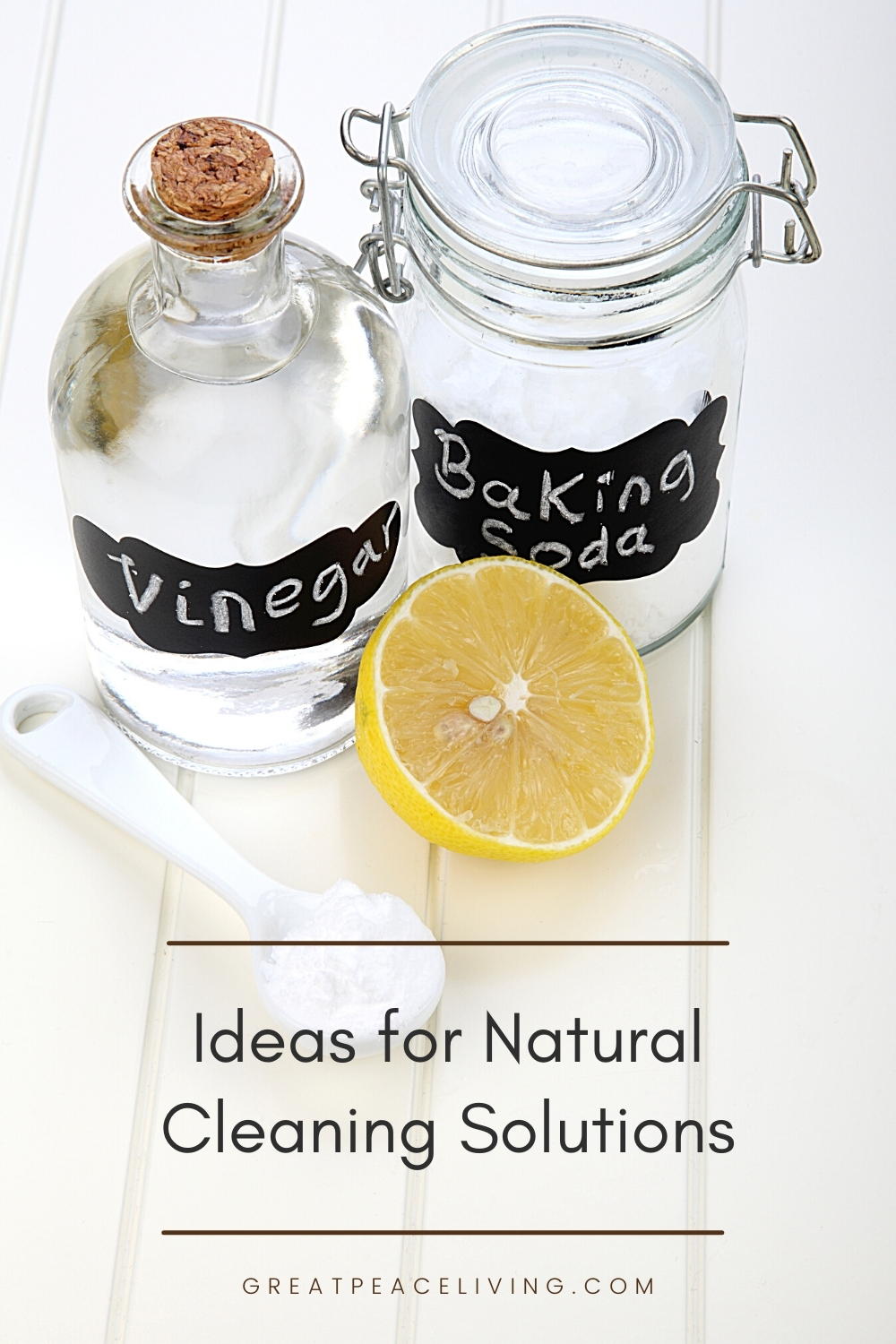 Ideas for Natural Cleaning Solutions | GreatPeaceLiving.com