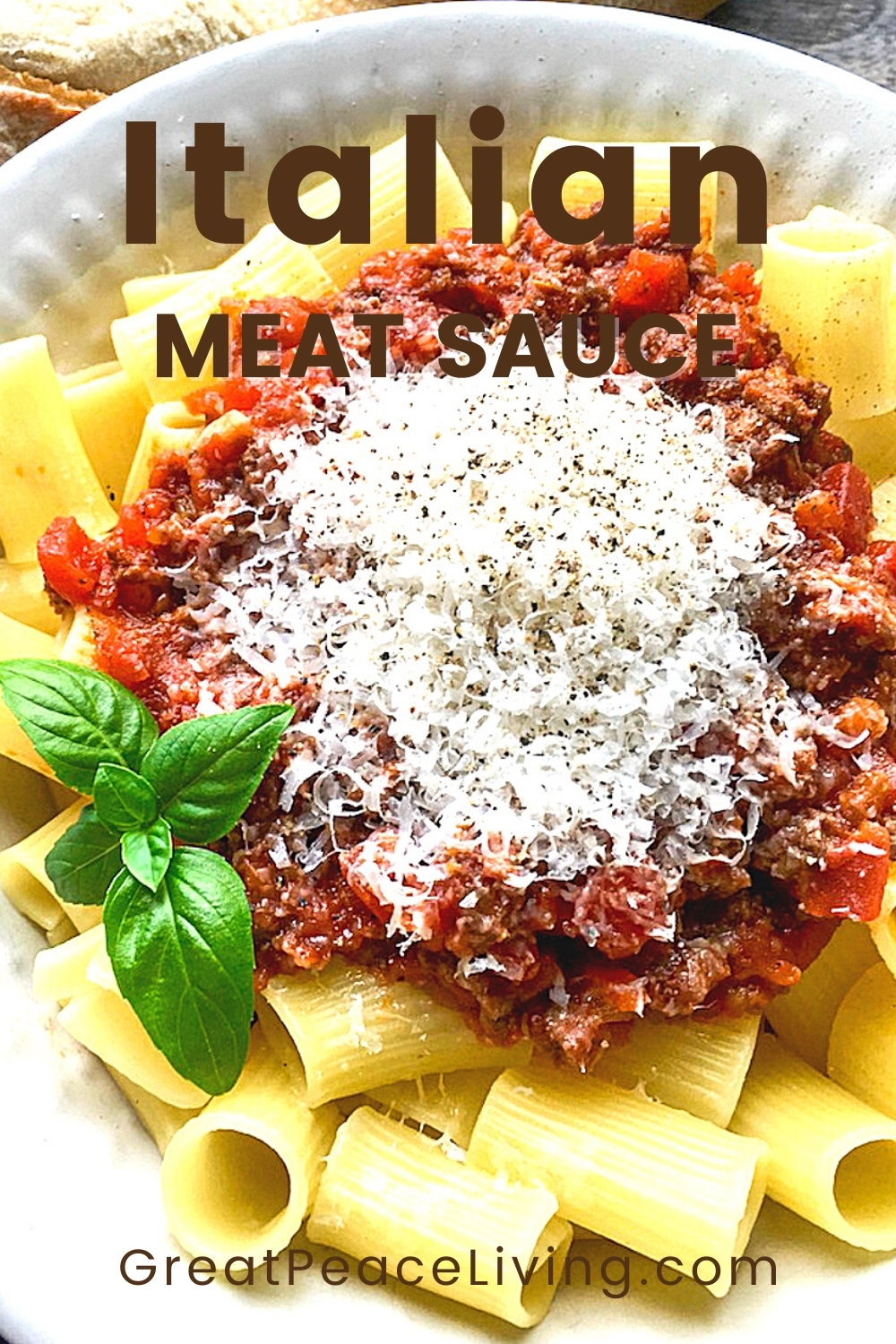 Italian Meat Sauce from Scratch