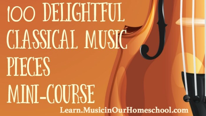 Classical Music in Homeschool