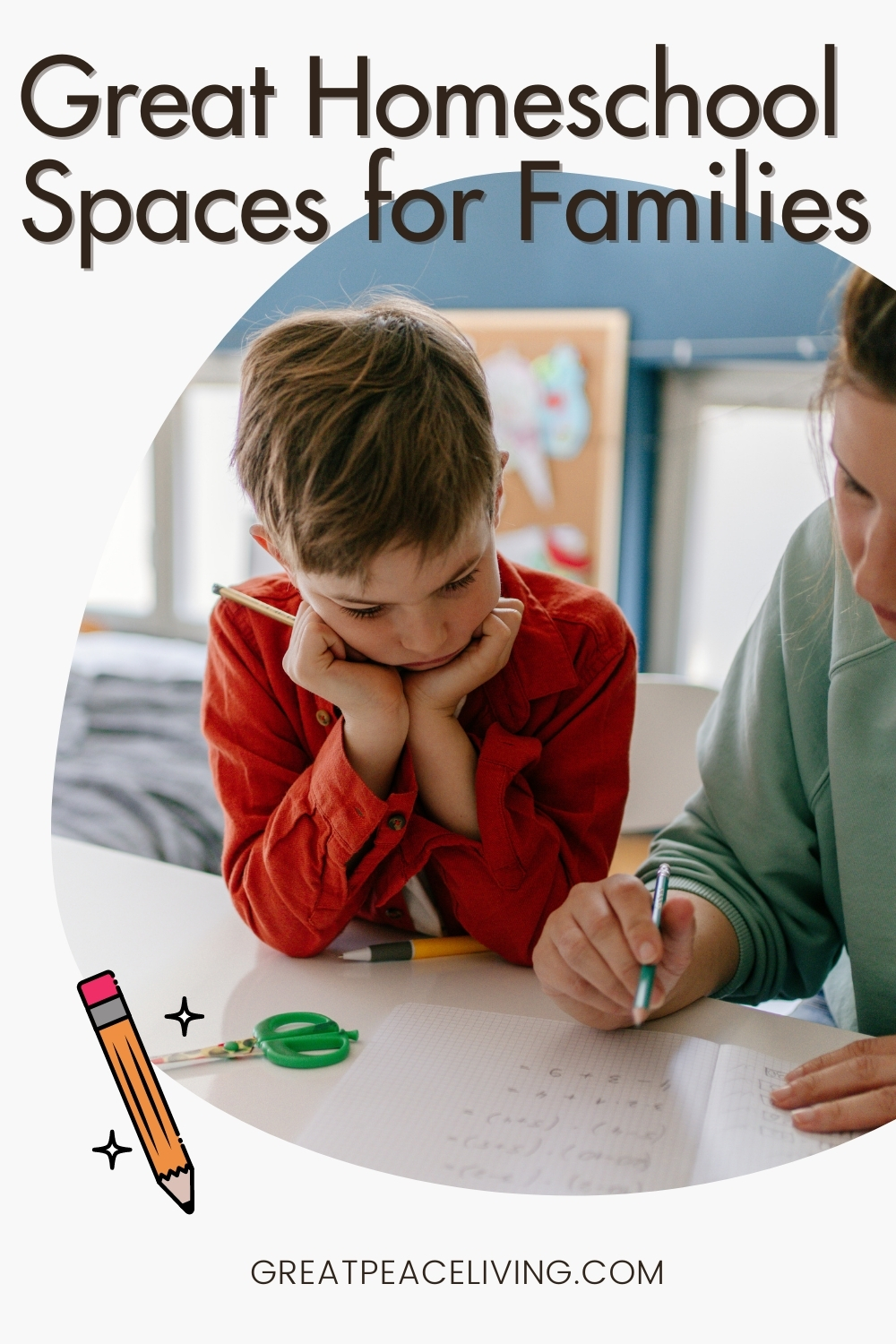 Great Homeschool Spaces for Families